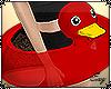 |Red Duck Floatie
