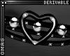 0 | Stud Heart Bracel LF