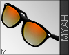 & Orange Design Sunglass