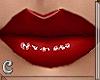 Red lips - Prsca head