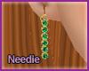 [n] Emerald Earrings