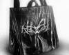 drv. blk transparent bag