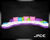 :J:Colorful Kawaii Couch