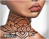 W| Lotus Spring Neck Tat