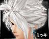 ! White Advent Hair