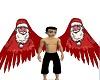 Santa Angel Wings