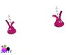 girls bunny earrings