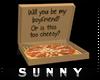 ♫| Pizza box - Bf