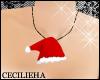! SantaHat Necklace