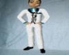 White n Zebra Suit