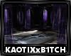 Gothic Indigo Room