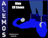 Blue Elf style shoes