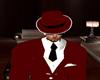 Red/White Mafia Hat