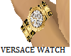 GOLDEN VERSACE WATCH