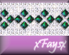 (F)Diamonds and Emeralds