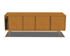 Iroko sideboard retro