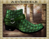 AS* Exotic Green Boots
