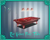 Red Velvet Pool Tab
