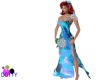 Blue flame venus gown