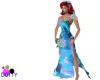 Blue flame venus gown