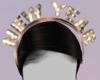 n.k gold new years crown