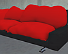 Red Pillow Couch