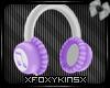 Purple Mega HeadPhones