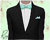 Mint BowTie Wedding Suit