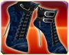 Blue Celtic Boots