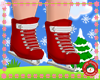 KIDS RED ICE SKATE