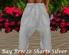 Bay Breeze Shorts Silver