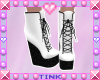 Wedge Boots | White