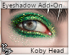 Green Eyeshadow- Koby