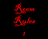 My Room Rules 1