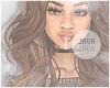 J | Angelou brunette