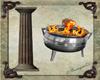 Greek Column & Fire