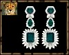 PdT EmeraldDiaEarrings