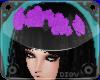 *D* Purple Flower Crown