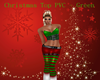 Christmas PVC Top Green