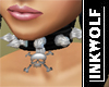 Spiked Charm Collar F/D