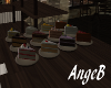 {AB} Cake Plates