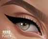 Zell eyeliner - black