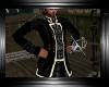 Black/gold captain pirat