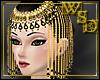 Onyx Beaded Headdress