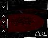 !C* C Black/Red Rug