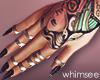 Tarot Nails Tattoos Ring