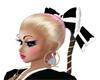 BW Bow Hello Kitty