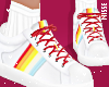n| Rainbow Red Shoes