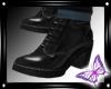 !! Black Jean boots