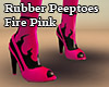 Peeptoes Fire Pink
